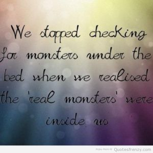 monsters-hiding-depression-Quotes